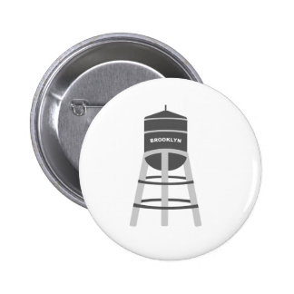 Brooklyn Water Tower Buttons