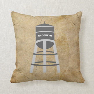 Brooklyn Water Tower Pillow