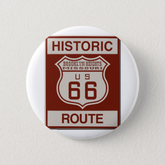 BROOKLYNHEIGHTS66 PINBACK BUTTON