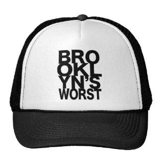 Brooklyn's Worst Trucker Hat