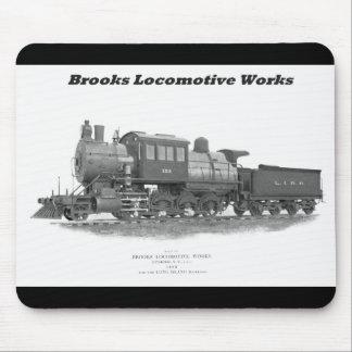 Brooks Camelback Locomotive, Long Island Railroad Mouse Pad