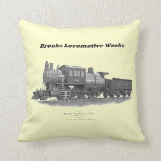 Brooks Camelback Locomotive, Long Island Railroad Pillow