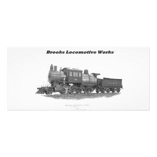 Brooks Camelback Locomotive, Long Island Railroad Rack Card