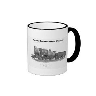 Brooks Camelback Locomotive, Long Island Railroad Ringer Mug