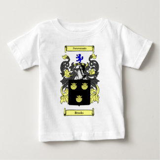 Brooks Coat of Arms Baby T-Shirt