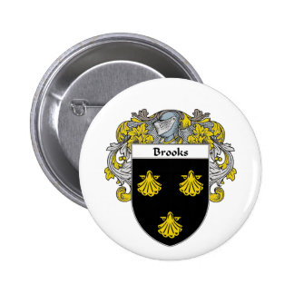 Brooks Coat of Arms (Mantled) Button