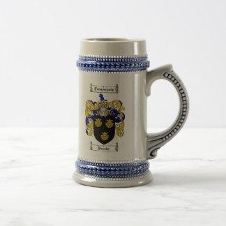 Brooks Coat of Arms Stein / Brooks Family Crest Mug