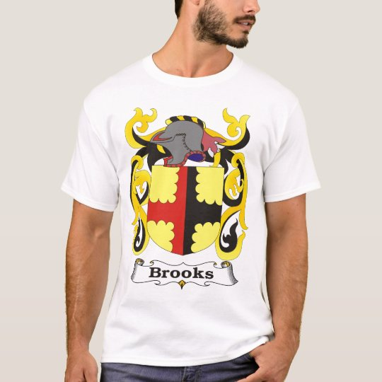 Brooks Family Coat of Arms T-shirt