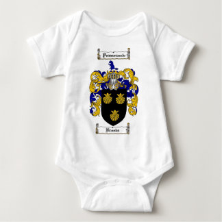 BROOKS FAMILY CREST -  BROOKS COAT OF ARMS TSHIRT