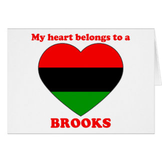 Brooks Greeting Cards