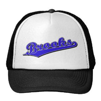 Brooks in Blue Trucker Hat