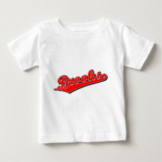 Brooks in Red Baby T-Shirt