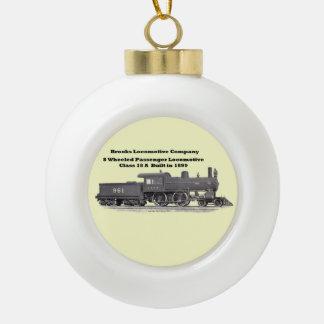 Brooks Locomotive Works 961 Ceramic Ball Ornament