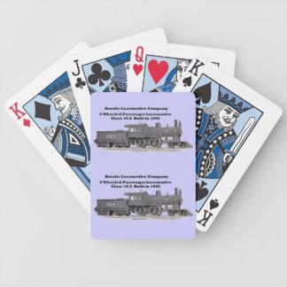 Brooks Locomotive Works #961 Playing Cards