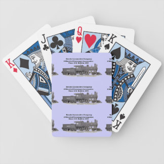 Brooks Locomotive Works #961 Bicycle Playing Cards