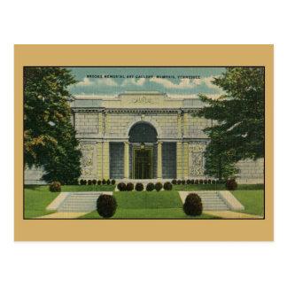 Brooks Memorial Art Gallery Memphis TN Postcard