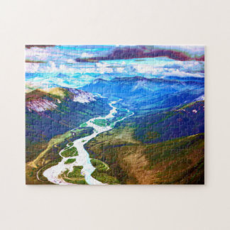 Brooks Mountain Range, Arctic Alaska Puzzle