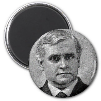 Brooks - Phillips / Episcopal Bishop Author 2 Inch Round Magnet