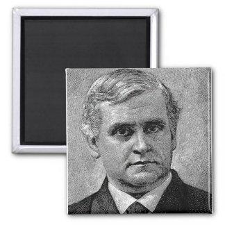 Brooks - Phillips / Episcopal Bishop Author 2 Inch Square Magnet