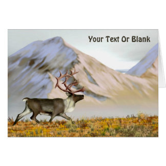Brooks Range Caribou Card