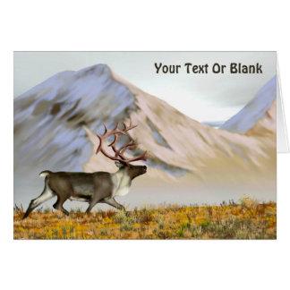 Brooks Range Caribou Card