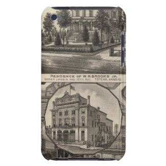 Brooks residence and Grand Opera House, Kansas Barely There iPod Case