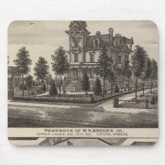 Brooks residence and Grand Opera House, Kansas Mouse Pad