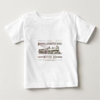Brooks Steam Locomotive Works 1890 Baby T-Shirt