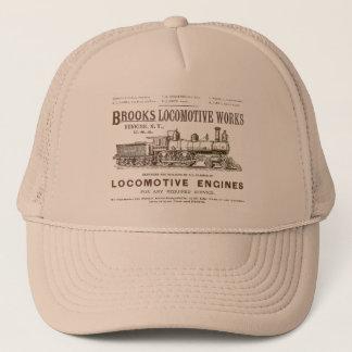 Brooks Steam Locomotive Works 1890 Trucker Hat
