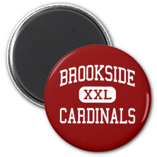 Brookside - Cardinals - High - Sheffield Ohio 2 Inch Round Magnet