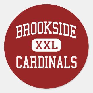 Brookside - Cardinals - High - Sheffield Ohio Classic Round Sticker