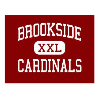Brookside - Cardinals - High - Sheffield Ohio Postcard