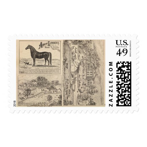 Brookside Dairy Farm Stamps