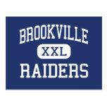Brookville - Raiders - Area - Brookville Postcard