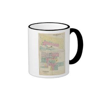 Brookville, Saline County, Stafford, Kansas Ringer Coffee Mug