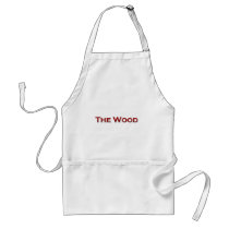 """broncos, """"the, wood"""", brookwood, football, Apron with custom graphic design"""