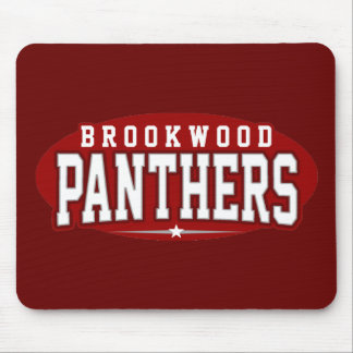 Brookwood High School; Panthers Mouse Pad