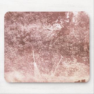 Broom and Spade, 1842 (b/w photo) Mouse Pad
