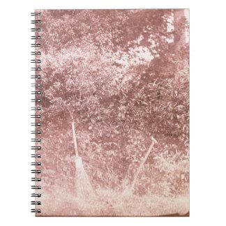 Broom and Spade, 1842 (b/w photo) Notebook