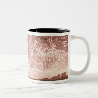 Broom and Spade, 1842 (b/w photo) Two-Tone Coffee Mug
