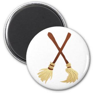Broom brooms fridge magnet