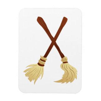 Broom brooms vinyl magnets