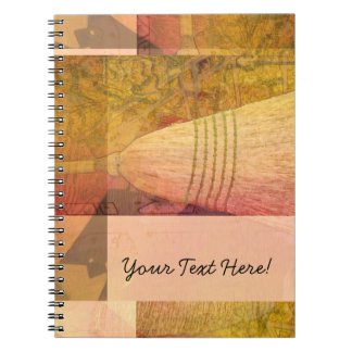 Broom Collage Notebook