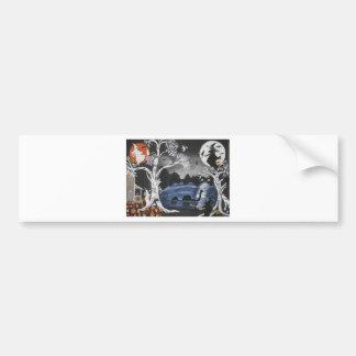 Broom Express Bumper Sticker