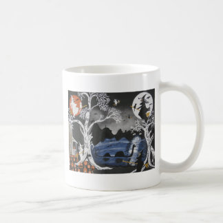 Broom Express Coffee Mugs