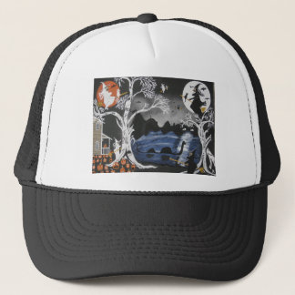 Broom Express Trucker Hat