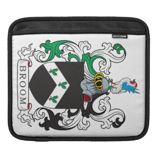 Broom Family Crest Sleeve For iPads