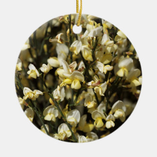 Broom Flowers Ceramic Ornament