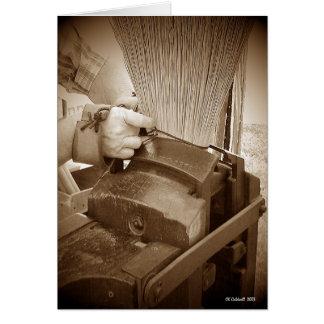 Broom Maker Card