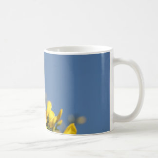 Broom Scotch Wildflowers Coffee Mug